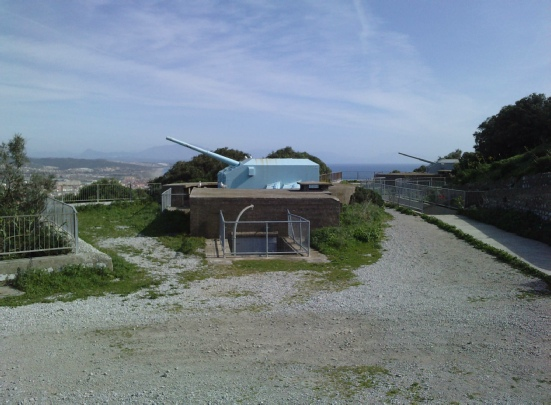 rock of Gibraltar ww2 guns