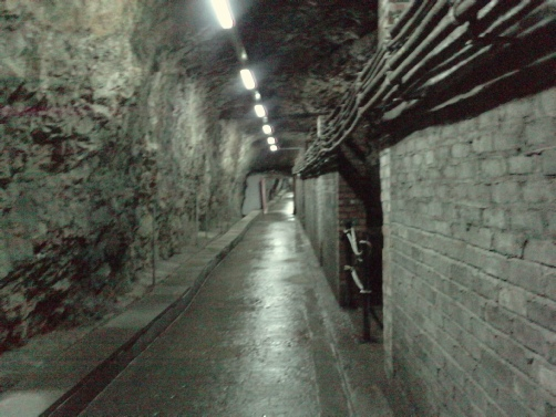 rock of Gibraltar ww2 tunnel system
